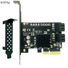 מארוול 88SE9230 SATA PCI Express 4 יציאות הרחבת כרטיס SATA בקר PCI E Raid כרטיס PCI E כדי SATA3.0 מתאם ממיר כרטיס