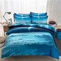 3d galaxy set capa de edredão único duplo gêmeo/rainha 2 pcs/3 pcs/4 pcs conjuntos de cama universo espaço temático roupa de cama folha de cama