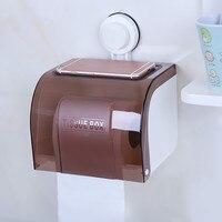 Multi function sucker toilet paper holder waterproof wall mounted universal paper holder Bathroom accessories