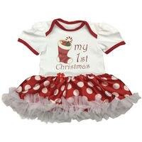 New Born Clothes Baby Girl Clothes Christmas Baby Romper Baby Girl Clothing Infant Clothing Bebe Toddler