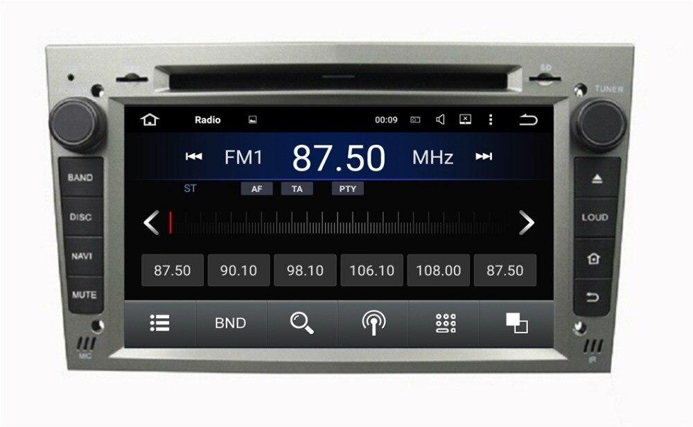 Quad Core 7″ Android 5.1 Car Radio dvd player for Opel Vectra Antara Zafira Corsa Meriva Astra With GPS 3G WIFI BT TV 16GB ROM