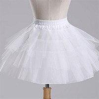 Fast Shipping Wedding Accessories Kids Girls Petticoat Vestido Longo Ball Gown Crinoline Skirt Petticoats In Stock 1