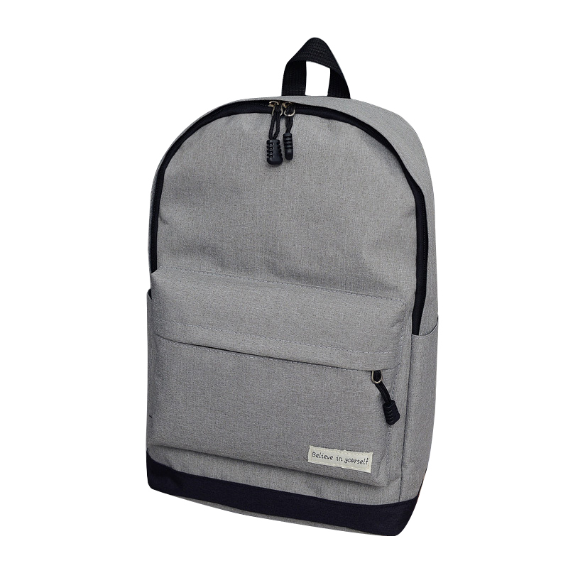 e18dfb0224ed Men Backpack Man Popular Solid Color Backpack For Woman School Bag College  Wind Small Fresh Fashion Men Backpack Unisex-in Backpacks from Luggage    Bags on ...