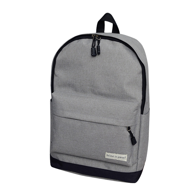 Men Backpack Man Popular Solid Color Backpack For Woman School Bag College  Wind Small Fresh Fashion b97645b2cd521