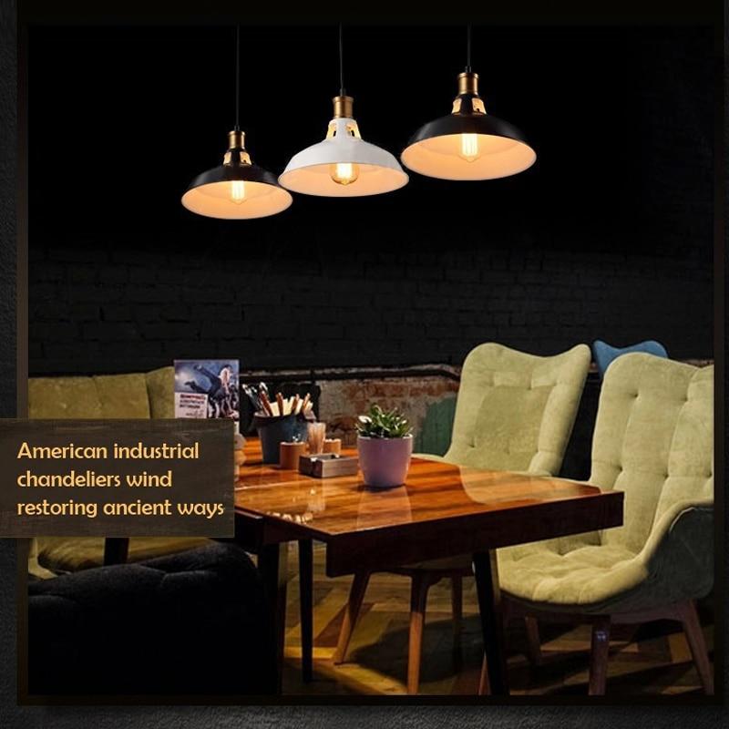 Vintage Pendant Lights Loft Pendant Lamp Retro Hanging Lamp Lamp shade For Restaurant /Bar/Coffee Shop Home Lighting Luminarias