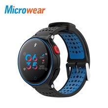 Купить с кэшбэком Microwear X2 Plus Smart Watch waterproof blood pressure smart band  Bluetooth Heart Rate Pedometer Smart Bracelet BT Camera