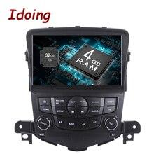 Idoing 1Din 8 дюймов 4 г Оперативная память 32 г Встроенная память рулевое колесо Android8.0/7.1 Автомобильный Мультимедийный Плеер Fit Chevrolet Cruze Octa core быстрая загрузка 3G
