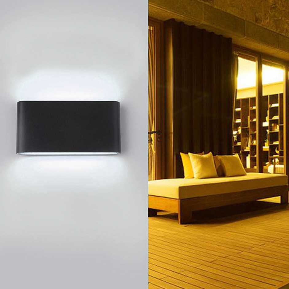 Creative Outdoor Lighting Wall Lamp Led Aluminum Wall Lamp Waterproof Outdoor Led Light Outdoor Porch Lighting Durable In Use