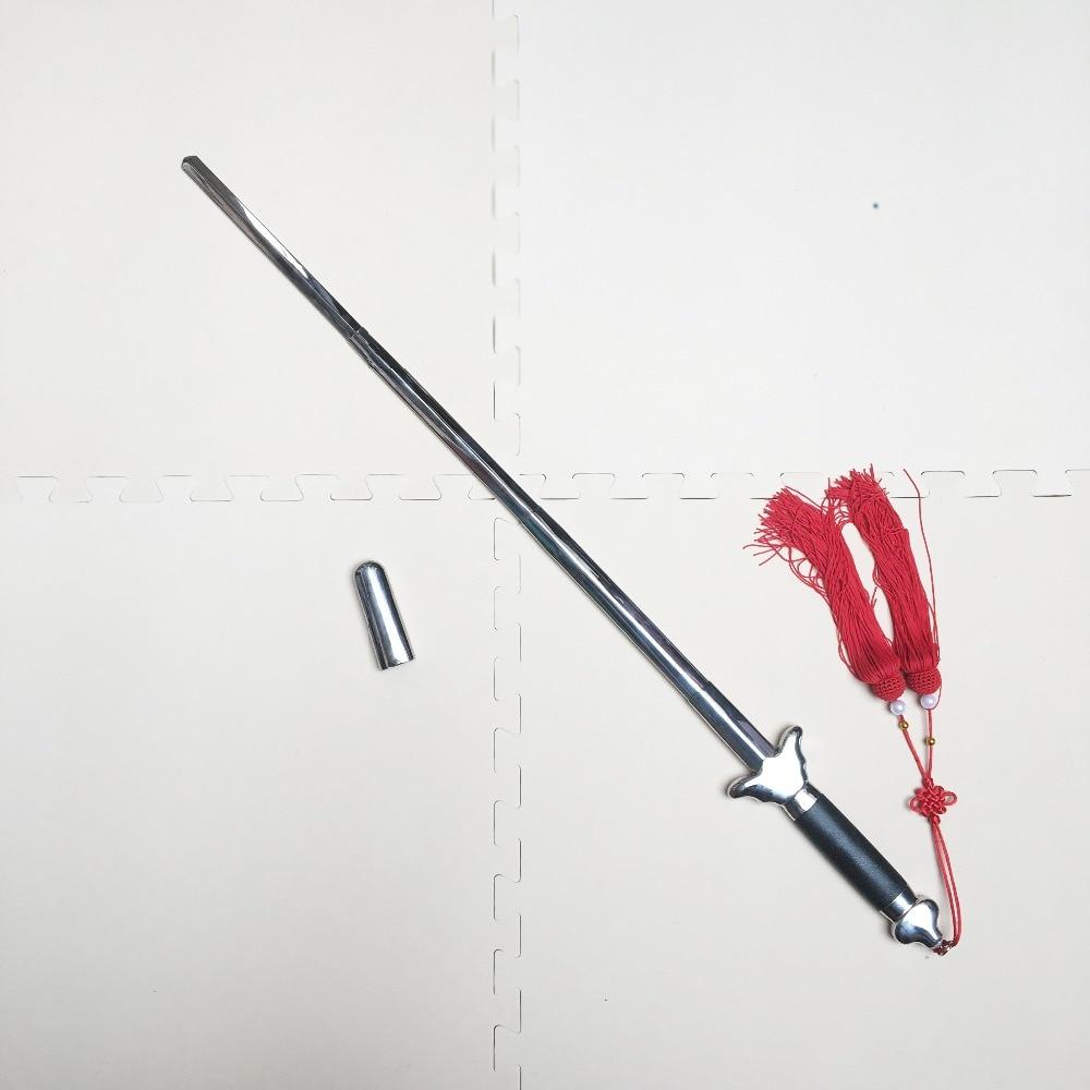Hot best quality retractable Tai Chi Sword, chinese Martial Art Wushu Kung Fu Tai Ji training equipment tassels. birthday gifts