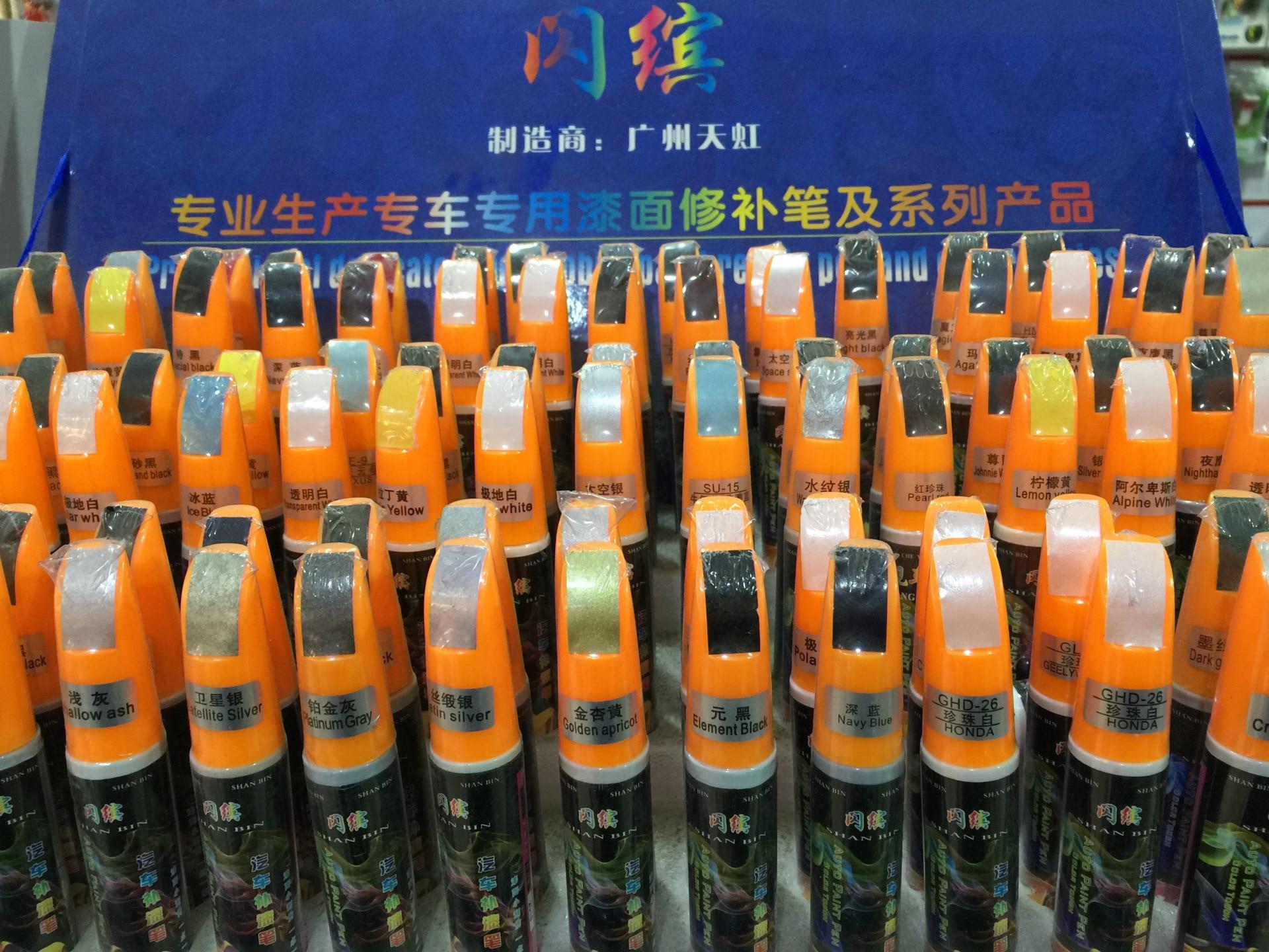 Красящие ручки из Китая