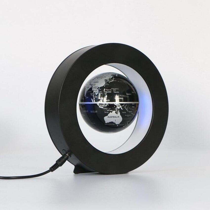 Led mapa do mundo novidade levitação magnética