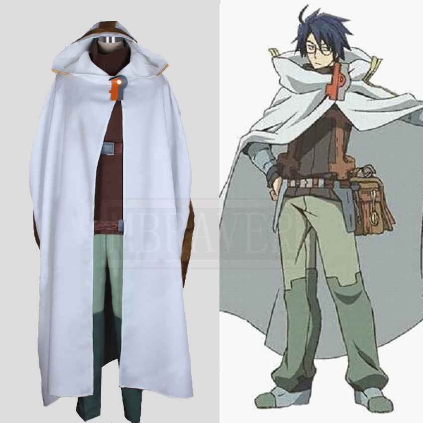 Anime Log Horizon Shiroe Cosplay Costume Custom Made Free Shipping