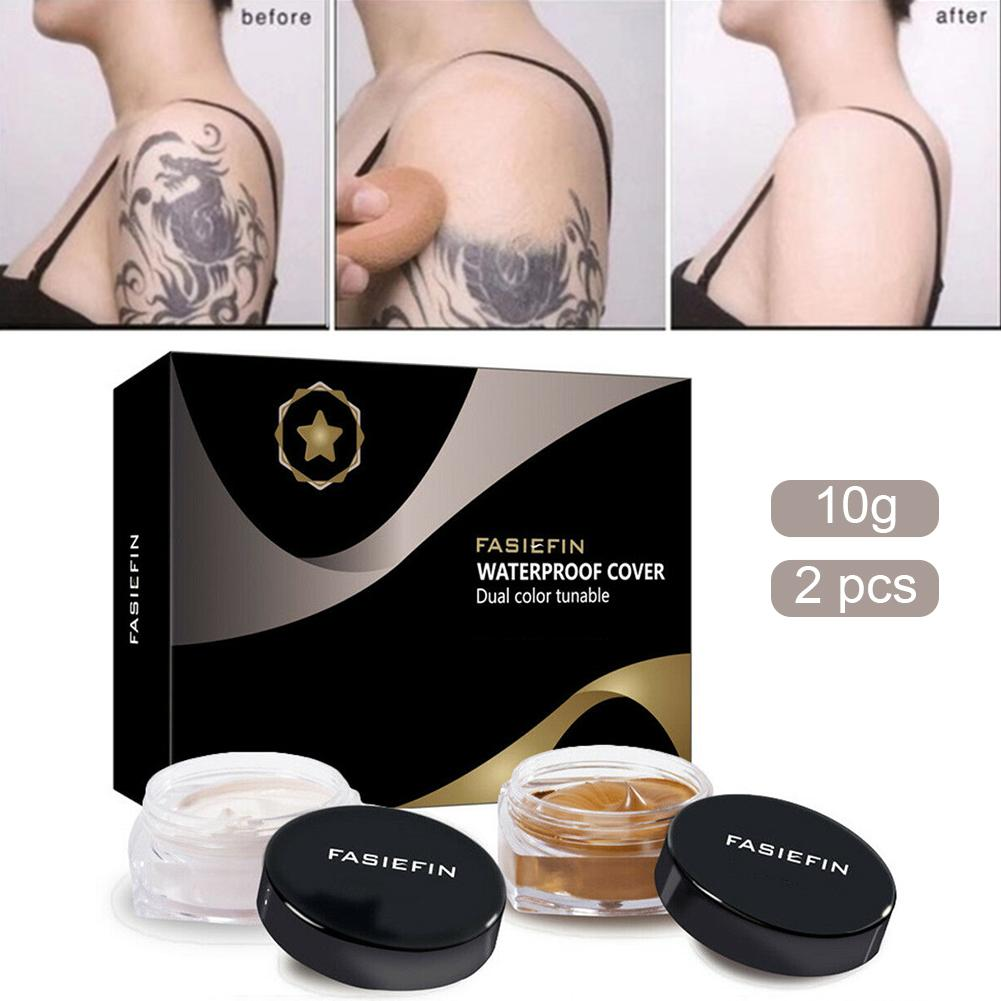 Full Cover Concealer Tattoo Cover Body Stickers Blemish Concealer Professional Concealer Cream Skin Dark Spots Liquid Foudation