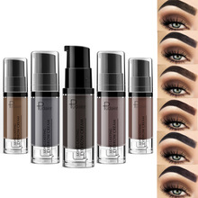 Eyebrow Gel 6 Color Colorante Sopracciglio Impermeabile Ombra di Trucco Per Gli Occhi Brow Cera Lunga Durata Tinta