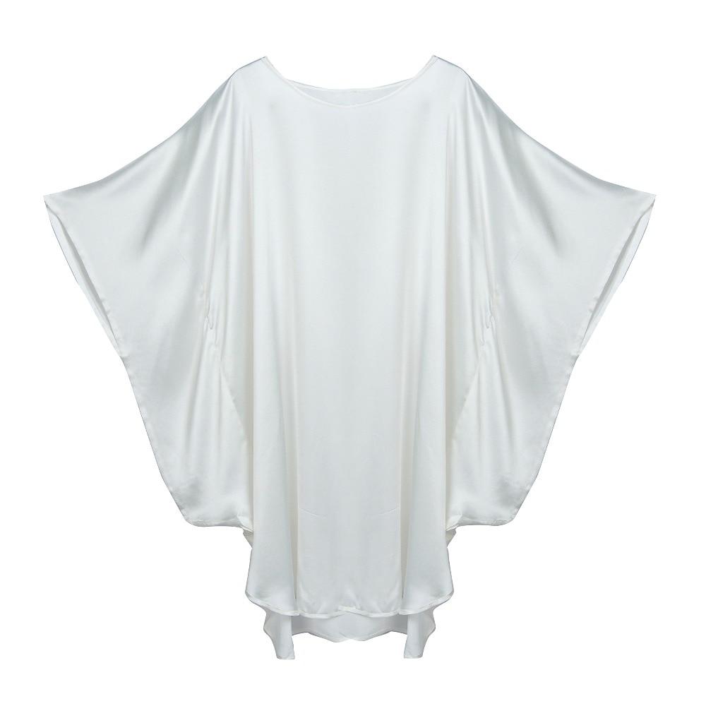 100% шелк атласное платье натуральный шелк тутового Для женщин платья плюс длинные Размеры домашнее платье Однотонные платье