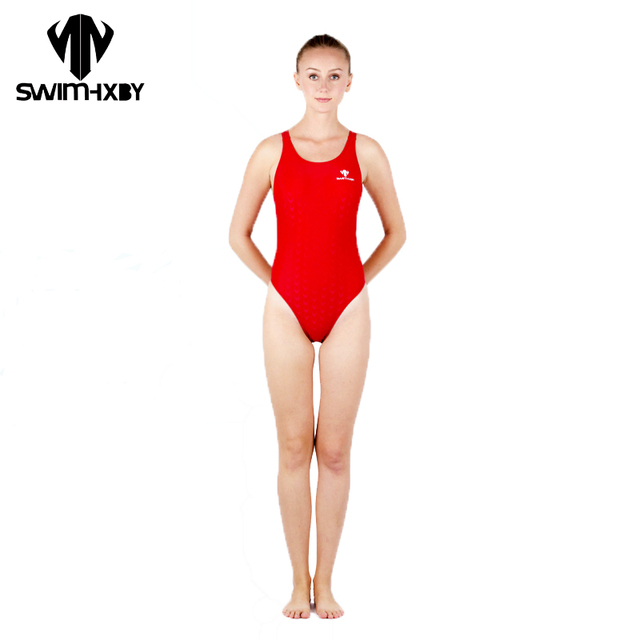 9d03c243f0 HXBY Sharkskin Professional Children Swimsuit For Girls Swimwear Women One  Piece Swim Wear Women Swimming Suit Womens Swimsuits