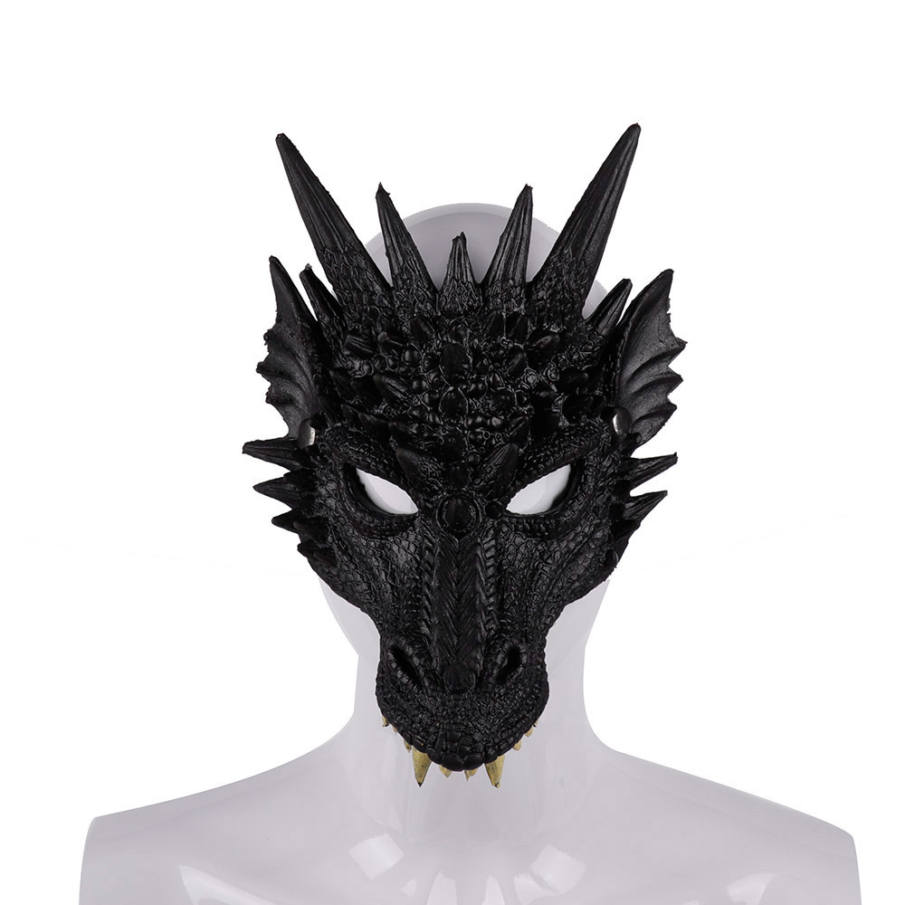 Dragon Halloween Masks Decoration Mascaras Animales Mask Carnival Party Accessories Cospaly Realistic Masker