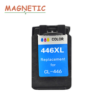 Printer Ink Color PG 445 CL 446 Compatible Ink Cartridges For Canon Pixma IP2840 MX494 MG2440 MG2540 MG2940 Printer PG445 CL446
