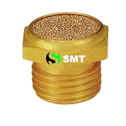 Pneumatic muffler, V Type muffler, solenod valve muffler, pneumatic component, exhaust muffler, silencer 1/8 sizes PT NTP, BSP