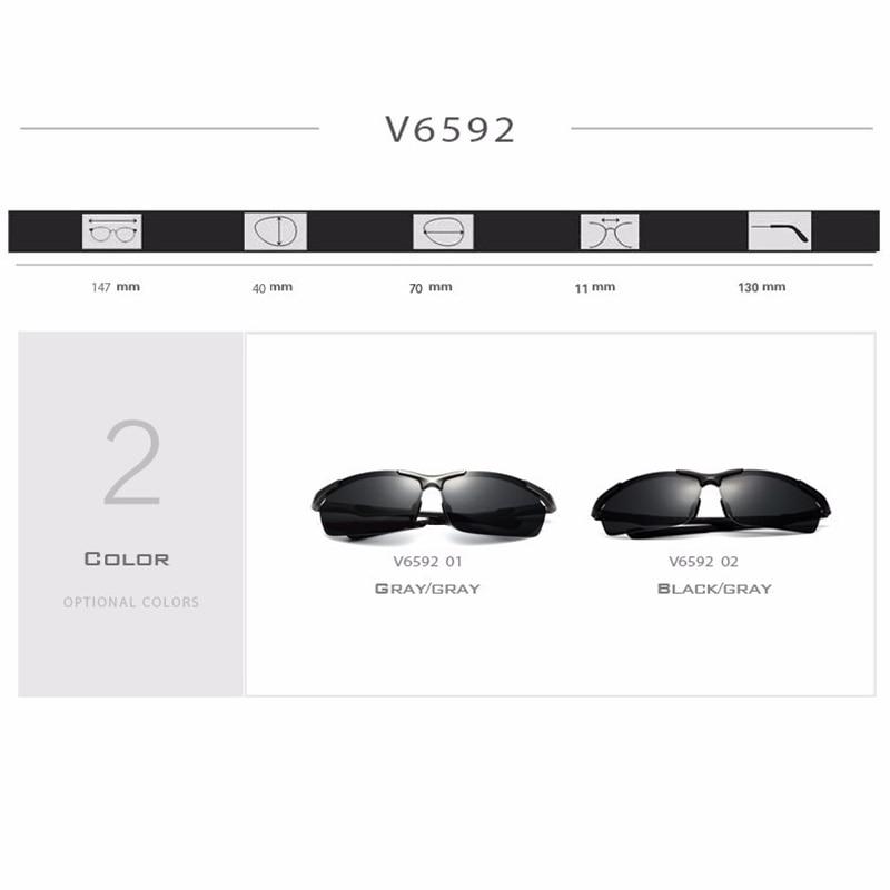 9504323630 VEITHDIA Brand Designer Aluminum Magnesium Men s Sun Glasses Polarized Sun  Glasses oculos Male Eyewear Sunglasses For Men 6592-in Sunglasses from  Apparel ...