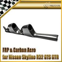 Автомобильные аксессуары для Skyline R32 GTS GTR углеродного волокна столп Twin 60 мм Gauge Pod Глянцевая Fibre интерьер отделка Гонки Body Kit