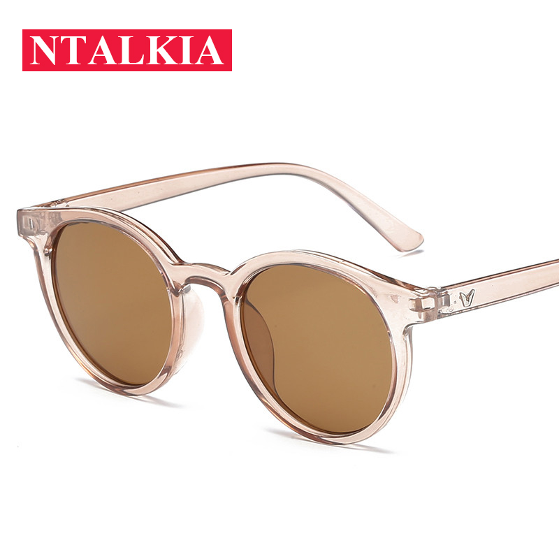 Uv400 Eyewear clear Beige milky Da Silver champagne Occhiali Donne Lusso Cat Black Rotonda Per Shades Grey olives Green Sole Di Specchio green Nuovo Blue Eye clear Red clear 2018 Pink Gradiente Red clear pink yellow Le Telaio red Grey Figura g1EHqOq
