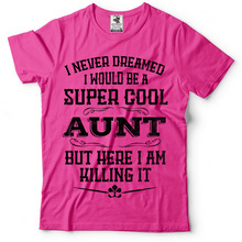 Aunt T Shirt Cool Birthday Gift Ideas Tee