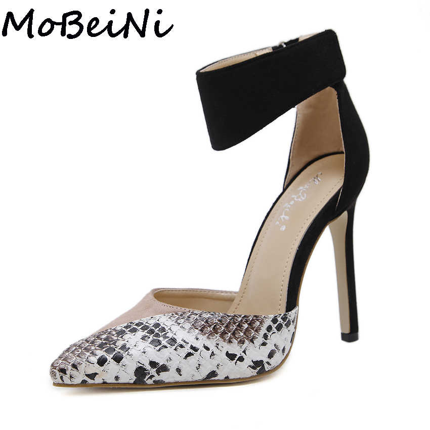6bf559e4649 Detail Feedback Questions about MoBeiNi Sexy Women Pumps Contrast ...