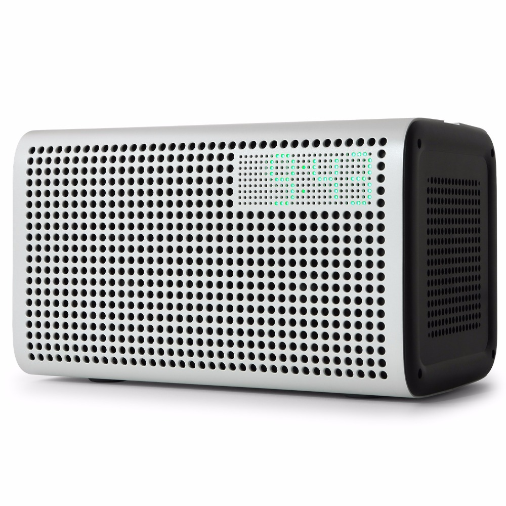 GGMM E3 Bluetooth Speaker Column WiFi Wireless Speaker Bluetoth Speaker Support DLNA for iOS Android Windows With Alarm Clock 3 in 1 out hdmi audio extractor splitter 4k arc hdmi switch box selector with optical spdif