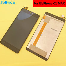 Original For Elephone c1 MAX LCD Display Touch Screen+Tools Digitizer Assembly Replacement Accessories For Phone 6.0
