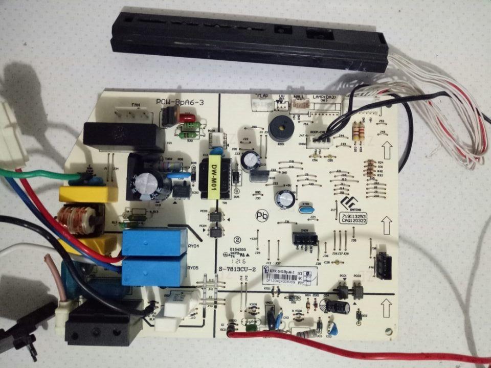 POW-BPA6-2/PCB-M1-C PCB-M3-B USED Good Working