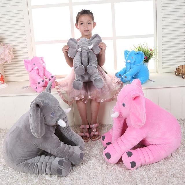 2016 Nova Kawaii Bebê Elefante Kinderkamer Kussen Alta Qualidade Crianças Decoração do Quarto Da Cama Travesseiro Adereços Fotografia de Recém-nascidos