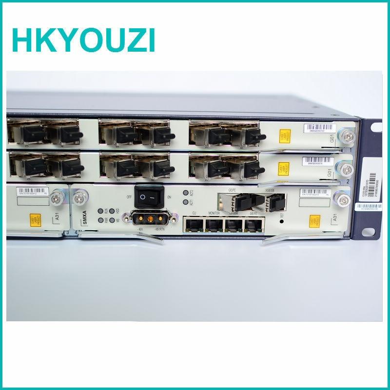 ZXA10 C320 OLT, SMXA / 3 כרטיס * 2 יחידות עם 2 - ציוד תקשורת