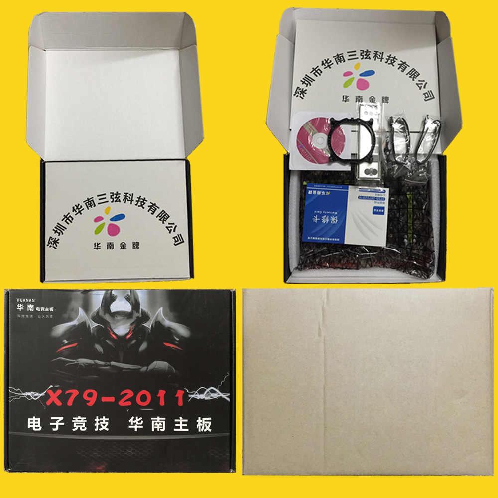 HUANAN ZHI X79 motherboard with SSD M.2 slot CPU Intel Xeon E5 2670 C2 SR0KX 4 channels RAM 32G(4*8G) 1600 RECC SATA3 1TB HDD