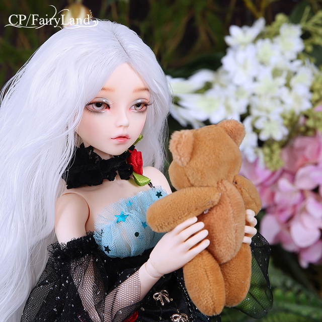Free Shipping Minifee Ria Doll BJD 1/4 Fairyline Halloween Witch Options For Fullset Staff Horns Wings Girls Resin Toy Fairyland