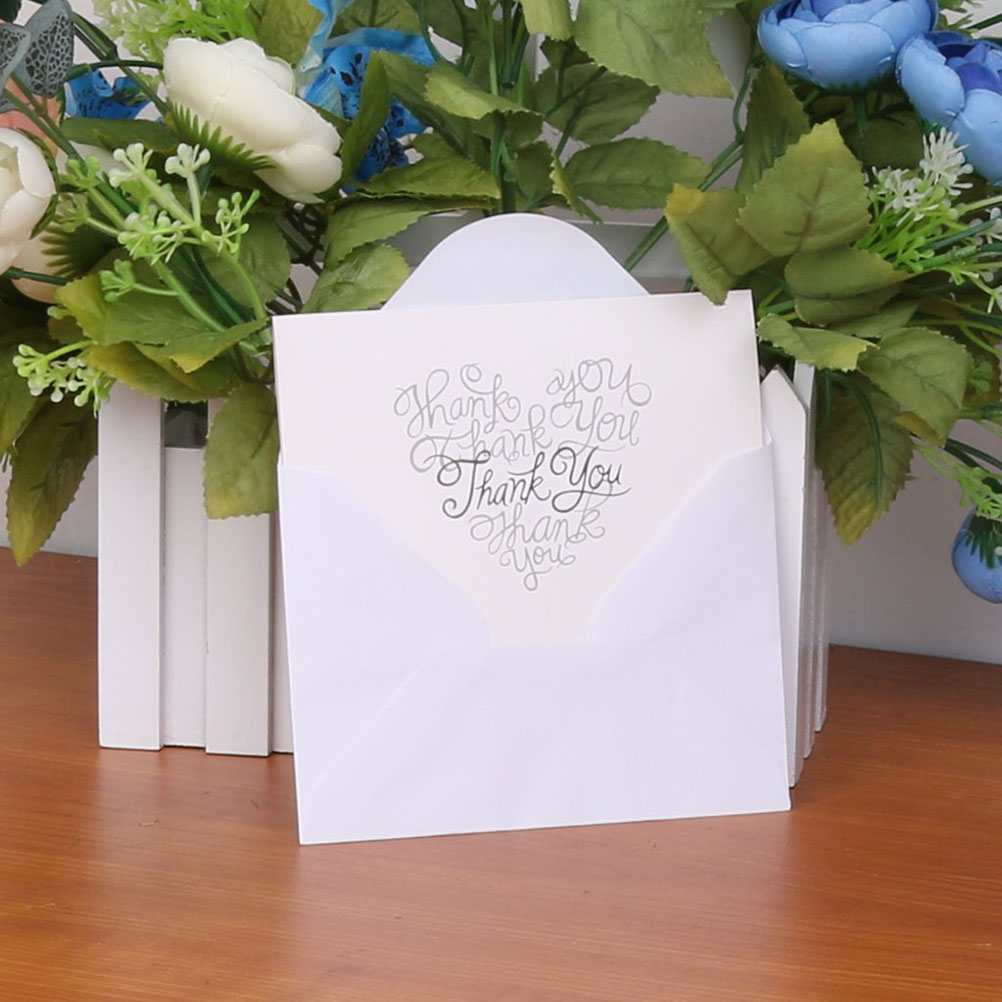 Aliexpress.com : Buy 50pcs Vintage Wedding Party Thank You Card ...