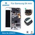 Дисплей Для Samsung Galaxy S4 mini i9190 i9192 i9195 ЖК-Дисплей с Сенсорным Экраном с Дигитайзер Рамка Рамка Ассамблея Черный