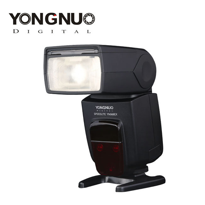 Yongnuo YN-568EX II YN568EX II Wireless TTL HSS 1/8000s Flash Speedlite For Canon 6d 60d 550d 650d 5d mark iii 100d DSLR Cameras yongnuo yn 568ex ii for canon master hss ettl flash speedlite for 5diii 5dii 5d 7d 60d 50d 650d 600d 550d 12 pcs color cards