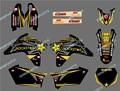 0591 NUEVA Estrella de EAM ANTECEDENTES PEGATINAS CALCOMANÍAS 3 M GRÁFICOS de La Motocicleta PARA SUZUKI RMZ450 2007