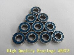 10 шт. 6X12X4 синие резиновые подшипники MR126 2RS ABEC3 модельные подшипники