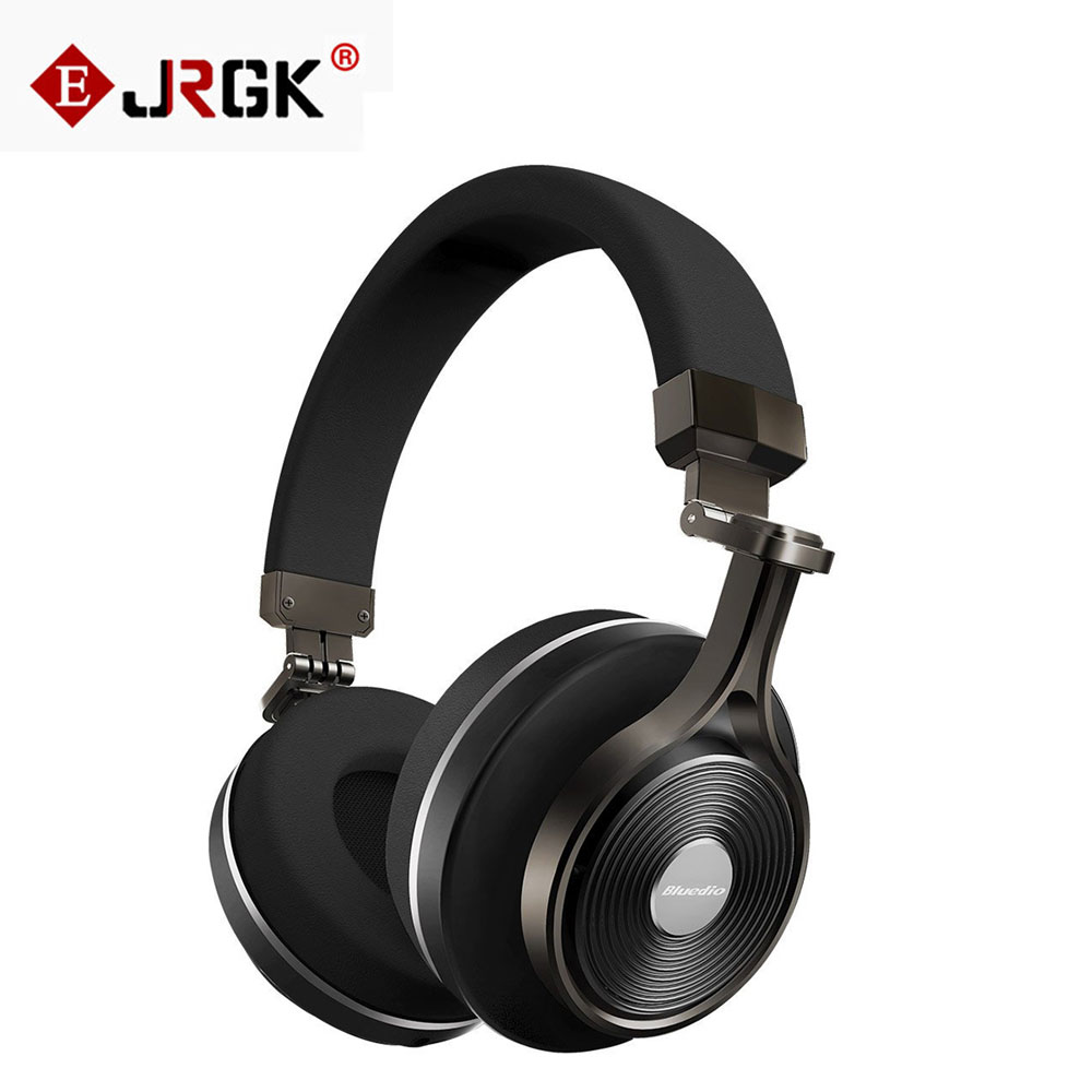 ФОТО Bluedio T3 Plus Wireless Bluetooth Headphone With Microphone BT 4.1 Stereo 3D Music Earphone Support SD Card Handsfree Headset