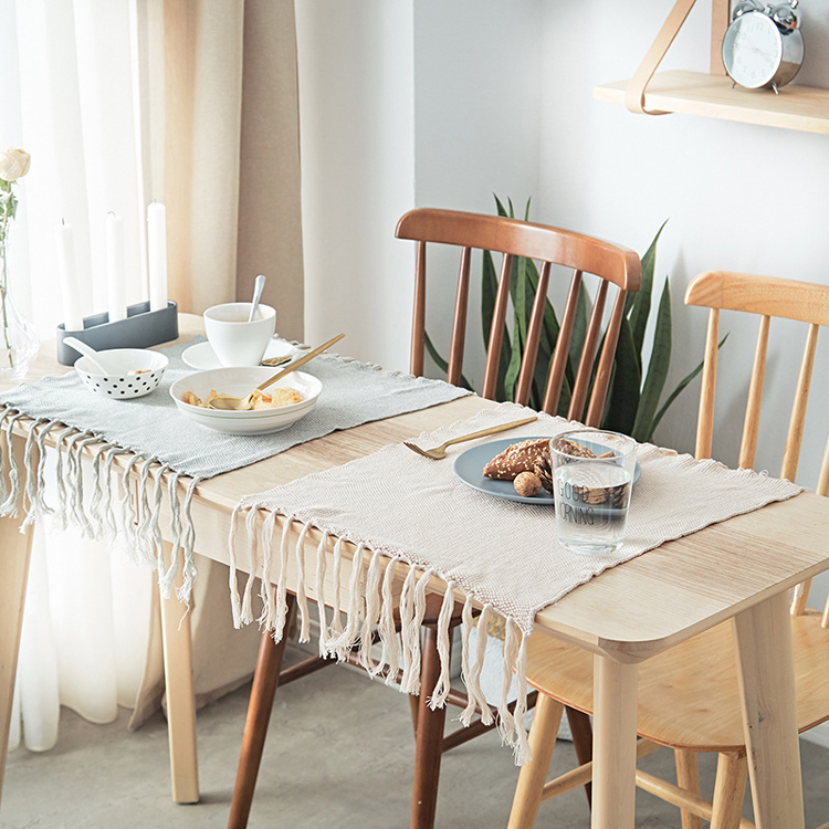 Minimalism-Table-Runner-with-Tassel-Macrame-Tafel-Loper-Caminos-De-Mesas-Modern-Home-Hotel-Decor-Dining-Table-Decoration-40x50cm-016