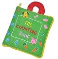 Кэндис го! самое новое прибытие мягкие детские игрушки многоцелевой ткань книги подсчет книга раннее обучение творческий подарок 1 шт.
