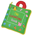 Candice guo! newest arrival soft baby toy multi-purpose cloth book the counting book early learning creative gift 1pc