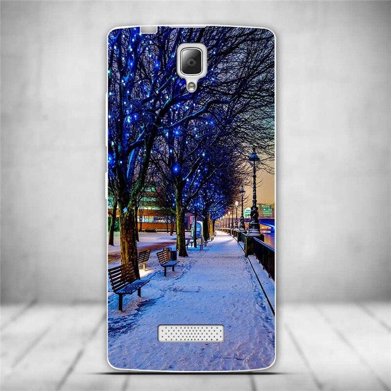 Luksusowe tylna pokrywa miękki tpu case dla lenovo a2010 a 2010 szczupła cienkie silikonowe etui na telefony dla lenovo a2010-a/a 2010 powrót skóry 3