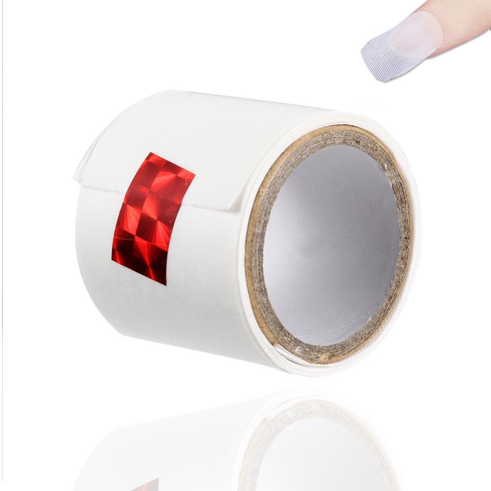 Ingenious 1 Roll Nail Repair Fiberglass Silk Wrap Self Adhesive Anti Damage Diy Strong Protect Reinforce Extension Sticker New Nails Art & Tools