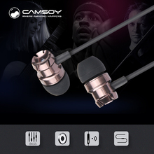 Фотография Camsoy H1  Earphone Noise Isolating in Headphone for a Mobile Phone HiFi Music 3.5mm Connectors with Microphone