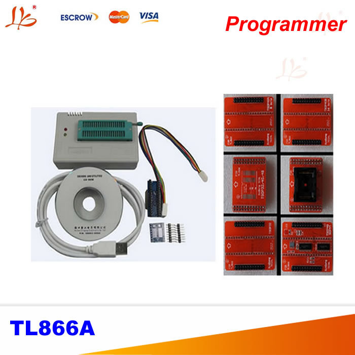 high speed MiniPro TL866A HighSpeed USB MCU eeprom programmer with ICSP interface and adapters TSOP48/TSOP40/TSOP32 socket free shipping new vspeed vs4000 high performance usb universal programmer support 40 pins 15000 ic for eeprom flash mcu pld