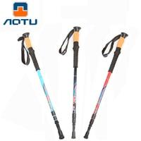 Lightweight Collapsible Trekking Poles Hiking Sticks Stronger than Pure Carbon Fiber Adjustable Walking Cane for Men and Women