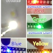 100 шт./лот SMD СВЕТОДИОДНЫЙ диод 3528 1210 диод SMD СВЕТОДИОДНЫЙ Набор диодов зеленый красный теплый белый синий желтый розовый фиолетовый-УФ оранжевый rgb